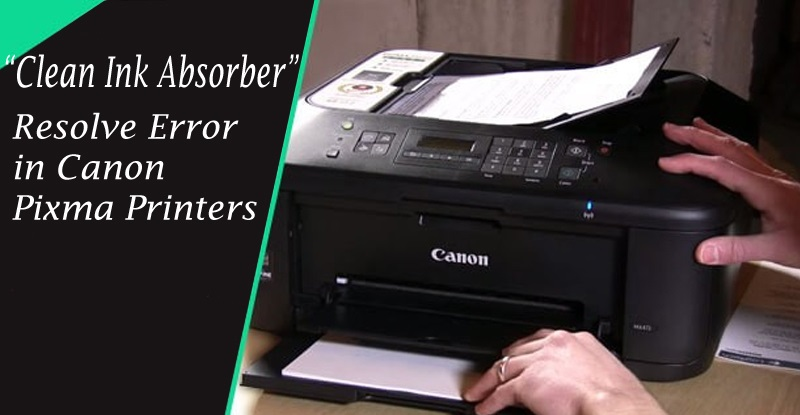 Clean Canon G1400 Ink Absorber